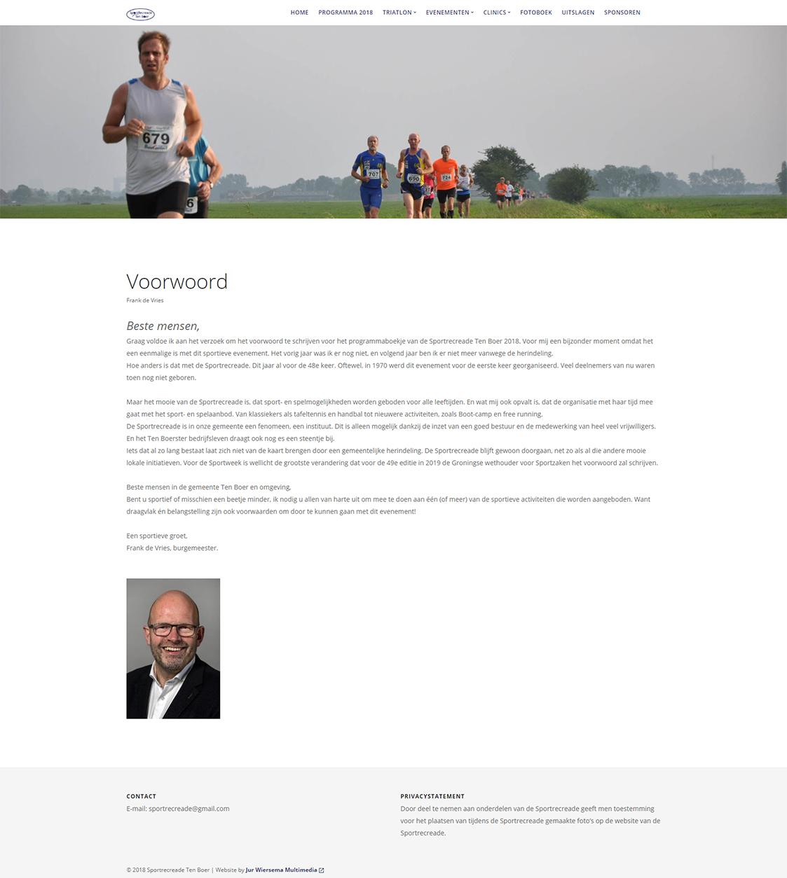 Website voor organisatie maken Groningen