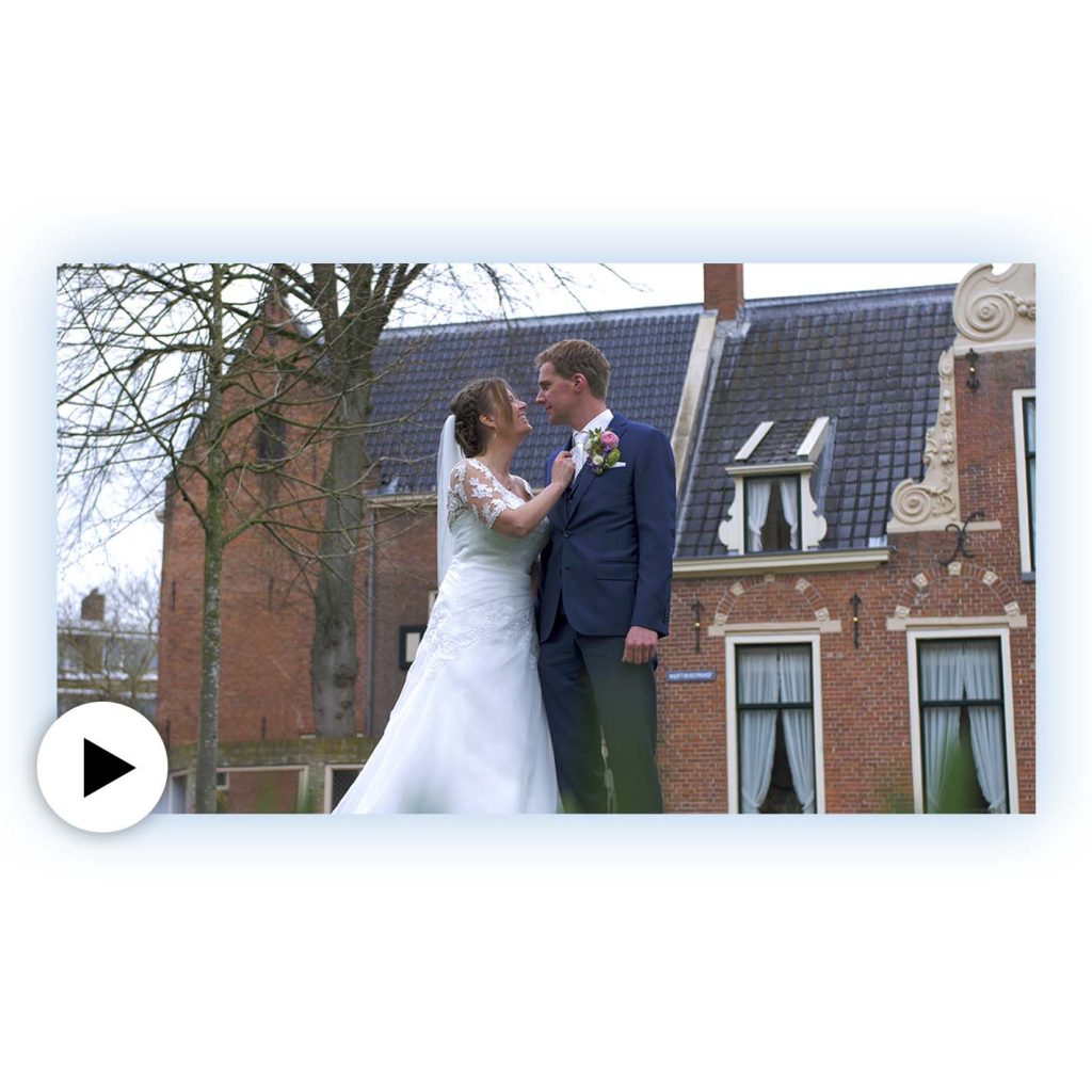 Trouwfilm Groningen trouwvideo bruiloft