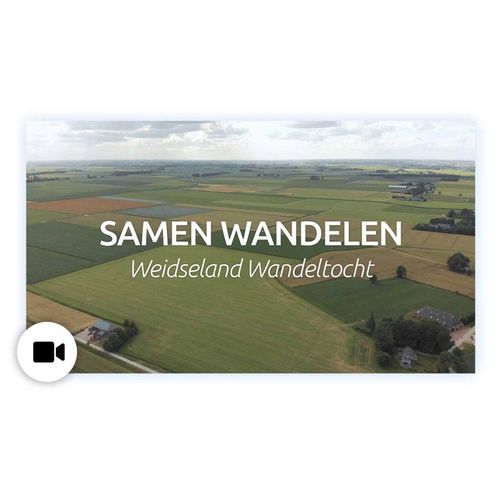 Evenement video wandeltocht reclame video uitleg video Jur Wiersema